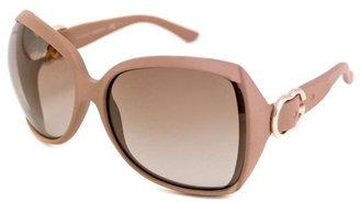 Gucci powder pink acrylic square double G womens sunglasses