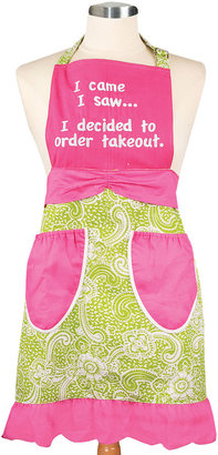 JCPenney Women's I Came, I Saw, I Ordered Apron