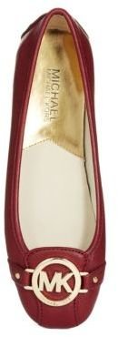 MICHAEL Michael Kors Fulton Leather Moccasins