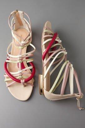 Alessandro Dell'Acqua Strappy Flat Sandal