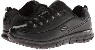 Skechers Sure Track - Trickel (Black) Women's Shoes