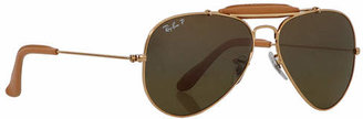 Ray-Ban RB3422Q Outdoorsman Craft 58mm Sunglasses $240 thestylecure.com