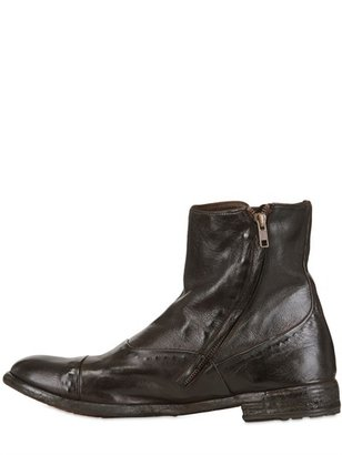 Officine Creative 20mm Vintaged Leather Boots