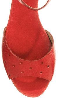 Madewell The Holepunch Flat Sandal