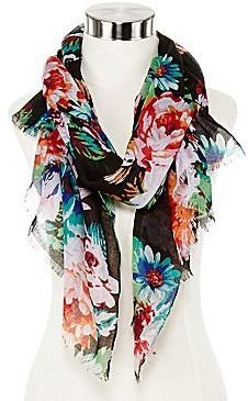 JCPenney Floral Print Woven Wrap