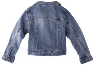 GE Genuine Kids from OshKosh TM Infant Toddler Girls' Jeans Jacket - Medium Blue