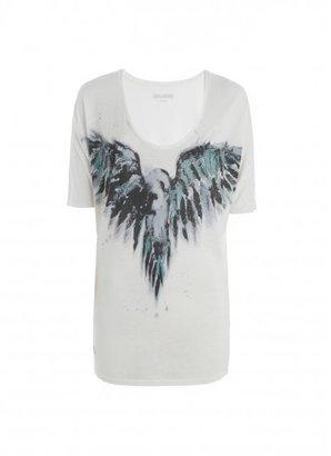 Zadig & Voltaire T Shirt Ottoya Print
