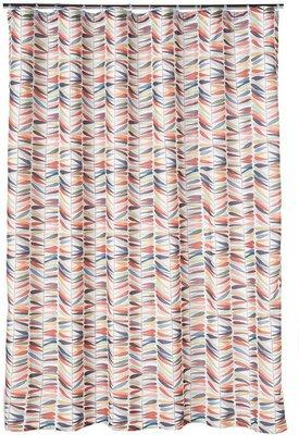 Home classics ® ladder leaf fabric shower curtain