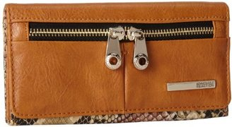 Kenneth Cole Reaction Wooster-Trifold Flap Clutch Wallet