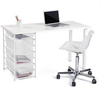 Elfa Component Desk White