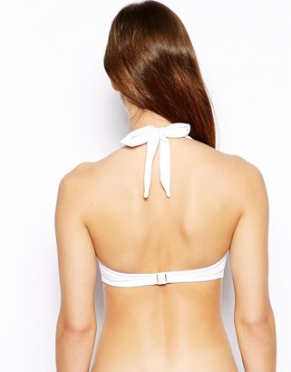 Asos Mix and Match 50s Halter Padded Bikini Top