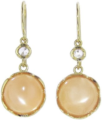 Irene Neuwirth cabochon moonstone earring