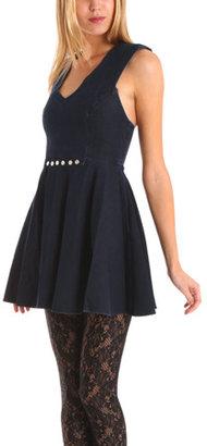 Kova And T Kova & T Autumn Denim Stud Dress