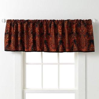 Chaps home stanton paisley window valance - 60'' x 17''