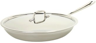 All-Clad Promotional 12 Fry Pan With Lid (Stainless Steel) - Home