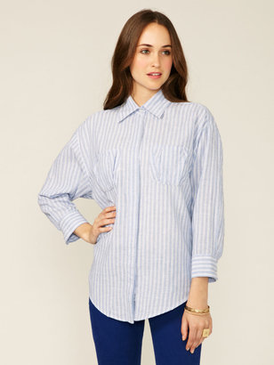 Elizabeth and James Artist Cotton Linen Shirt