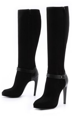 CNC Costume National Leather Knee High Boots