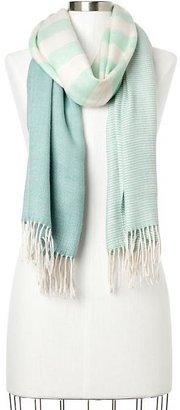 Gap Cozy colorblock-stripe scarf