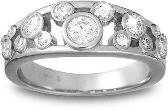 Disney Mickey Mouse Diamond Ring for Women Platinum