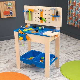 Kid Kraft Deluxe Workbench with Tools Play Set
