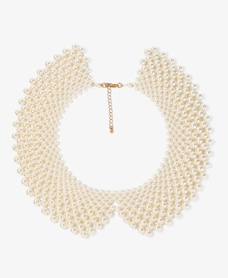 Forever 21 Pearlescent Peter Pan Collar Necklace