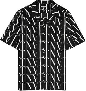 Valentino VLTN Times Printed Cotton Shirt
