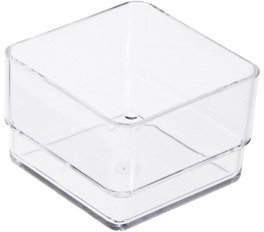 Container Store Stackable Drawer Organizer Clear