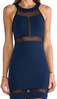 Donna Mizani Halter Panel Dress