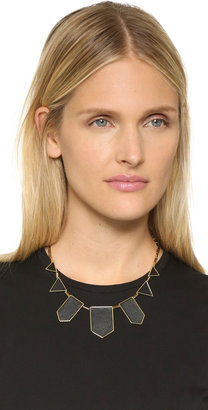 House Of Harlow Station Leather Necklace