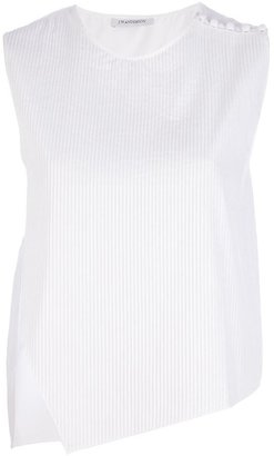 J.W.Anderson sleeveless asymmetric top