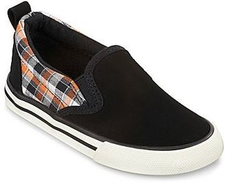 Joe Fresh Joe FreshTM Canvas Boys Slip-on Shoes - Toddler