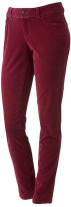 Lauren Conrad skinny velveteen pants