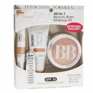 Physicians Formula Super BB All-In-1 Beauty Balm Kit, Light/Medium