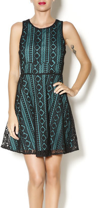 Everly Gina Overlay Dress $58.95 thestylecure.com