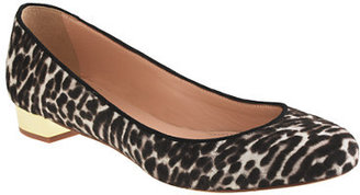 J.Crew Collection Janey calf hair flats