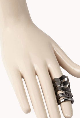 Forever 21 Chevron Knuckle Ring