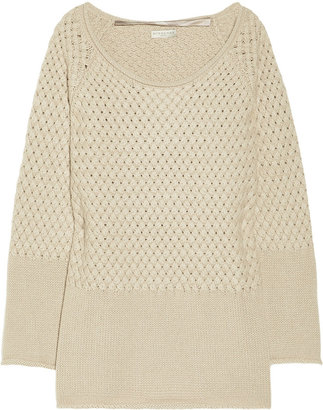 Burberry Basketweave cashmere sweater