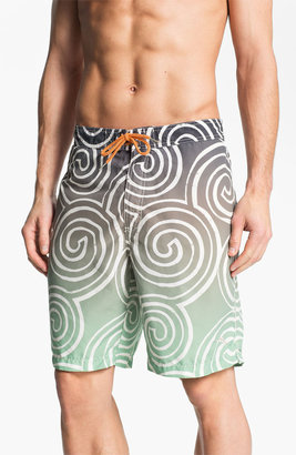 Tommy Bahama Relax 'St. Lucia Swirl' Swim Trunks (Online Exclusive)
