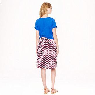 J.Crew Patio skirt in sunglass print
