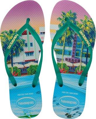 Havaianas 'Slim Paisage' Flip Flop