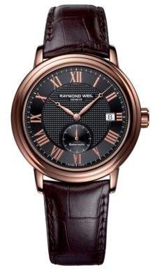 Raymond Weil Men's Maestro Rose Gold Watch