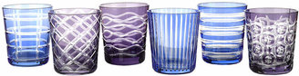 Pols Potten Tumbler Cobalt - Set of 6