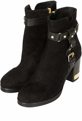 Topshop All THEIRS Side Buckle Boots