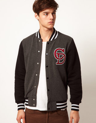 Criminal Damage Ace Varsity Jacket