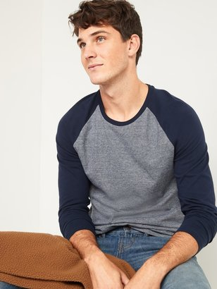Old Navy Soft-Washed Color-Blocked Long-Sleeve Tee for Men