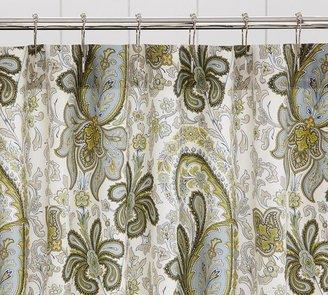 Pottery Barn Charlie Paisley Organic Shower Curtain