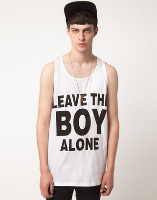 Boy London Leave The Boy Alone Tank