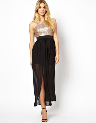 Love Dress With Sequin Top