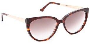 Cat Eye John Dalia Ingrid B. Sunglasses
