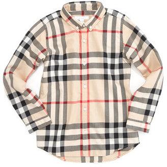 Burberry Mini Fred New Classic Check Shirt